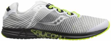 Saucony Type A8 White/Black/Citron Men