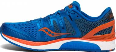 Saucony Liberty ISO - Blue / Orange
