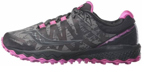 Saucony Peregrine 7 Runshield - Black/Pink (S103601)