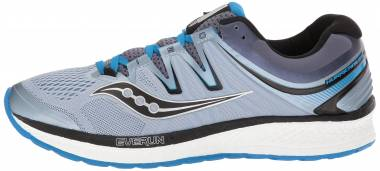 Saucony Hurricane ISO 4 Grey/Blue/Black Men