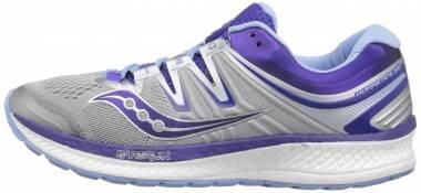Saucony Hurricane ISO 4 - Grey/Blue/Purple