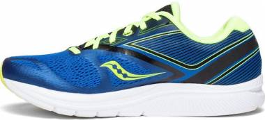 Saucony Kinvara 9 Blue/Black/Citron Men