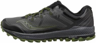 Saucony Peregrine 8 - Grey Black Green (S204241)
