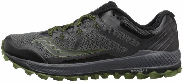 Saucony Peregrine 8 - Grey Black Green