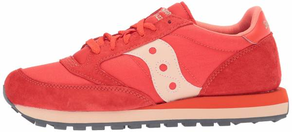 Saucony Jazz Original CL Windbreaker Red Tan