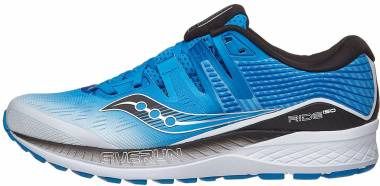 Saucony Ride ISO White | Black | Blue Men