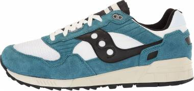 Saucony Shadow 5000 Vintage - Turquoise Teal White Black 5 (S704045)