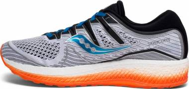 Saucony Triumph ISO 5 - White | Black | Orange (S204623)