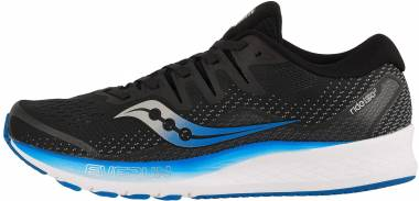 Saucony Ride ISO 2 - Black/Blue (S205142)