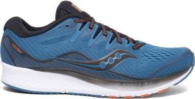 Saucony Ride ISO 2 - Black / Blue