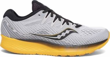 Saucony Ride ISO 2 - Grey / Yellow (S2051445)