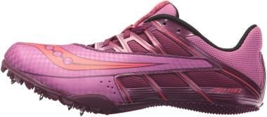 Saucony Spitfire 4 - Purple/Pink (S190343)