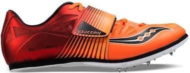 Saucony Soarin J 2 - Red/Vizi Orange
