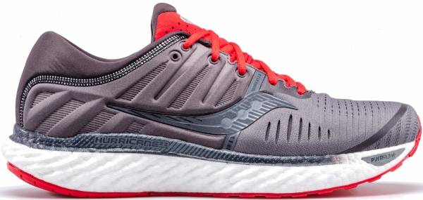 Saucony Hurricane 22 - Charcoal/Red (S2054430)