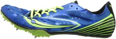 Saucony Endorphin MD4 - Blue Citron Black (S290092)