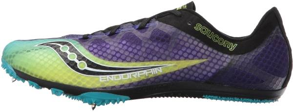 Saucony Endorphin - Purple Citron Black