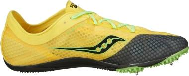 Saucony Endorphin - Yellow Black Slime (S290251)