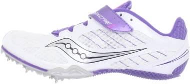 Saucony Spitfire 2 - White/Purple (S101872)