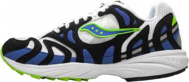 Saucony Grid Azura 2000 - Blanco Blue Lime (S704891)