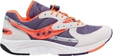 Saucony Aya - Blanc Violet Orange
