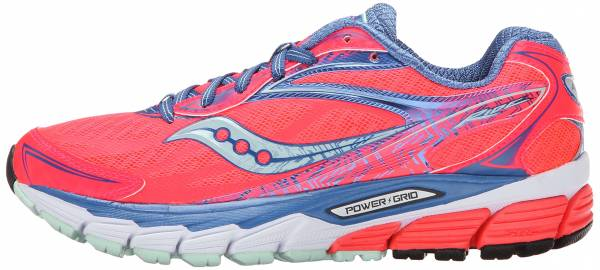 Saucony Ride 8 woman coral/blue/sea