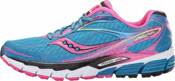 Saucony Ride 8 woman deepwater/violet/slime
