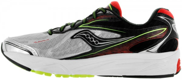 Saucony Ride 8 men silver/red/citron