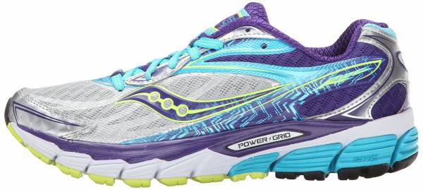 Saucony Ride 8 woman mehrfarbig (silver/purple/blue)