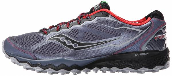 Saucony Peregrine 6 men grey/red/blue