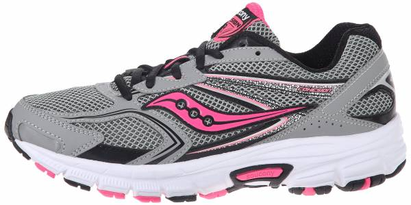 Saucony Cohesion 9 woman grey/black/pink