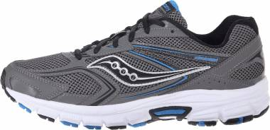 Men's Saucony Cohesion 9 SilverBlackRed Running Shoes