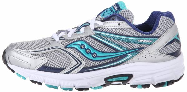 Saucony Cohesion 9 woman silver/navy/teal