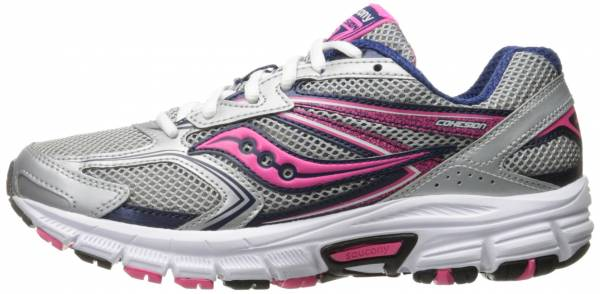 Saucony Cohesion 9 woman silver/navy/pink