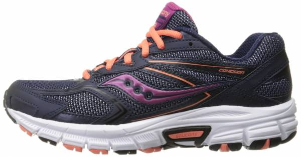 Saucony Cohesion 9 woman navy/coral/purple