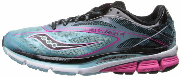 Saucony Cortana 4 woman blue/pink/black