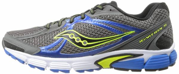 Saucony Ignition 5 men blue/grey/yellow/white
