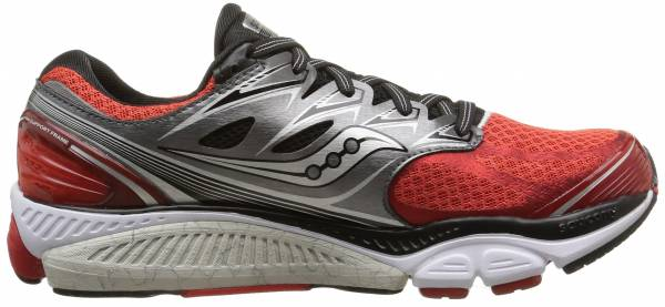 Saucony Hurricane 17 men red/grey/silver