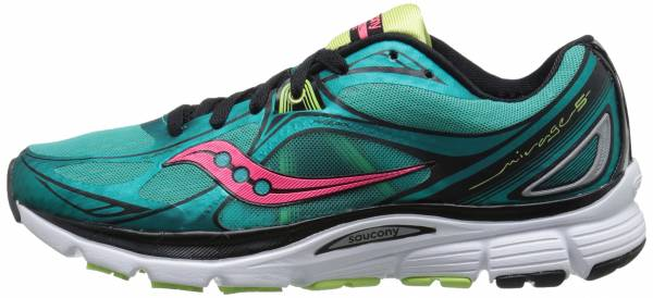 Saucony Mirage 5 woman green/coral