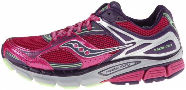 Saucony Stabil CS 3 woman berry/green