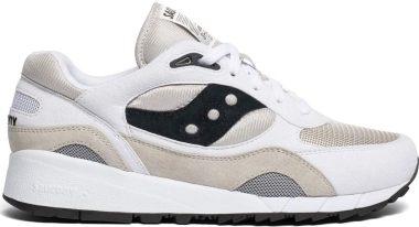 Saucony Shadow 6000 - White Grey Black (S704413)