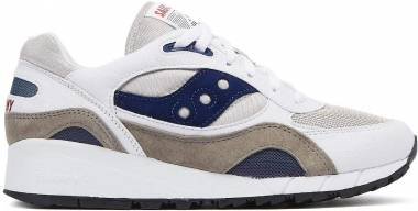 Saucony Shadow 6000 - White/Grey/Navy (S704411)