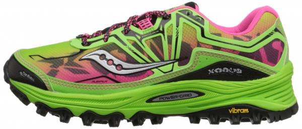 Saucony Xodus 6 woman green/pink
