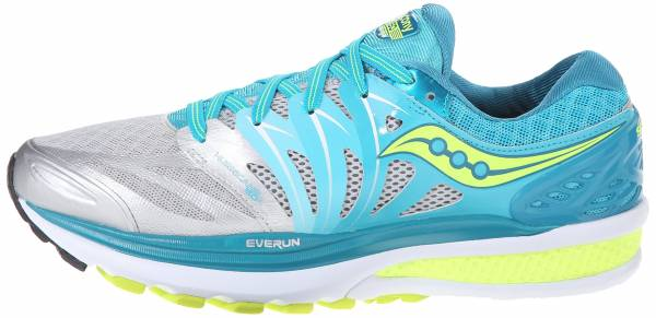 Saucony Hurricane ISO 2 woman blue/silver/citron