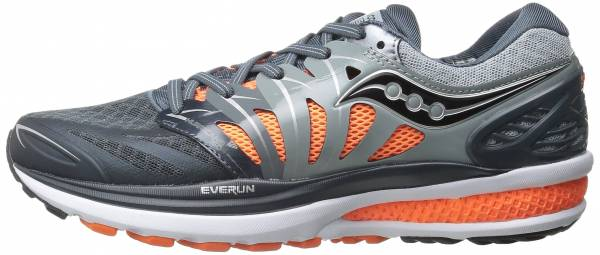 Saucony Hurricane ISO 2 men multicolore (grey/charcoal/or pa)