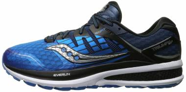Saucony Triumph ISO 2 Blue/Black/Silver Men