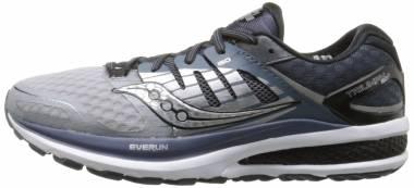 Saucony Triumph ISO 2 - Grey/Black/Blue (S202902)