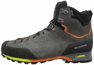 Scarpa Zodiac Plus GTX  Shark/Orange Men