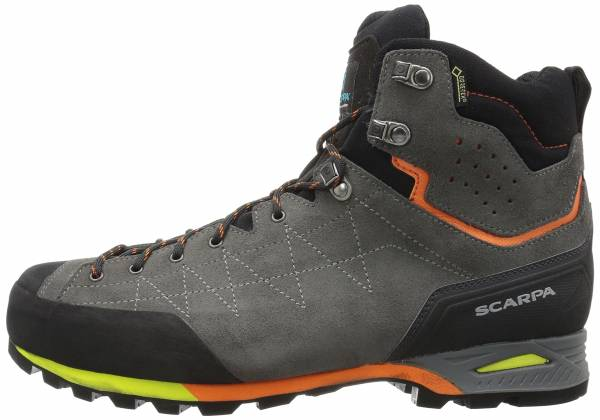 Scarpa Zodiac Plus GTX  - Shark/Orange