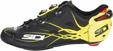 Sidi Shot Matt - matt black/yellow fluo