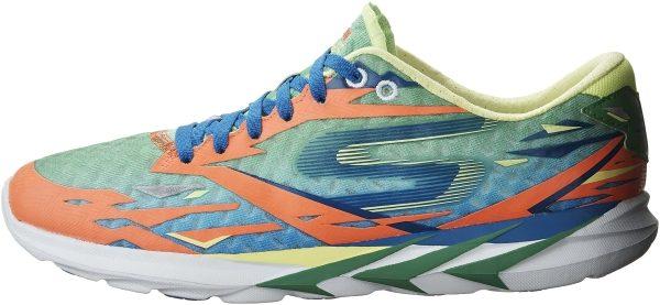 Skechers GOmeb Speed 3 woman green/ orange/ blue